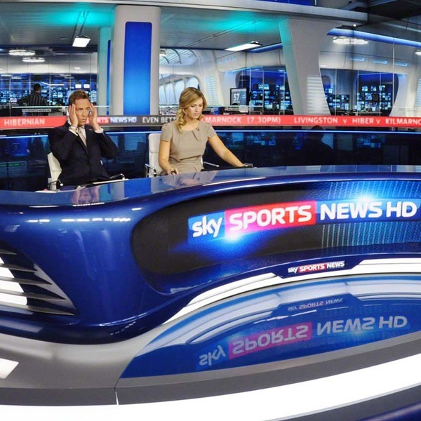 Sky Sports backdrop design