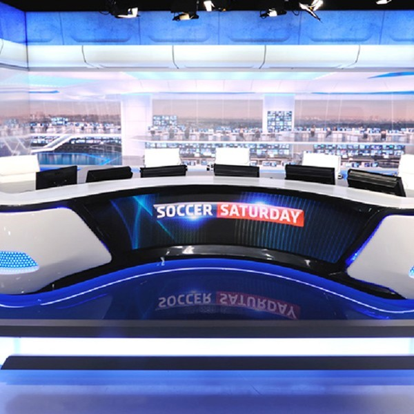 Soccer Saturday digital backdrop
